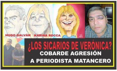 Salvaje agresión a periodista matancero: la víctima involucra a Magario y Espinoza