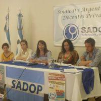 En La Pampa despiden a docentes por afiliarse al sindicato SADOP