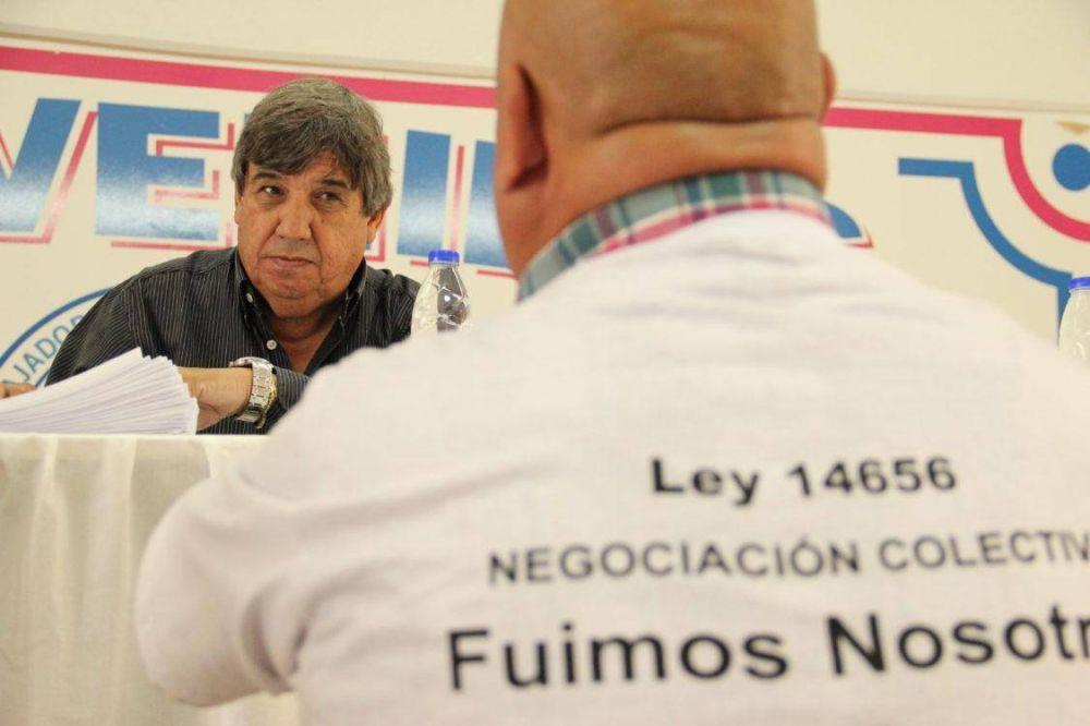 Municipales: García denunciará en la OIT que de los 2.190 municipios sólo 135 tienen una ley de paritarias