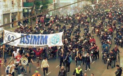 """El Sindicato de Motociclistas insiste en el 25% ya que """"e 15% nunca fue contemplado"""" por el gremio"""