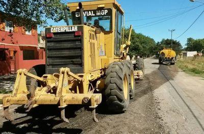 Licitan por $10 millones la compra de granza para arreglar las calles
