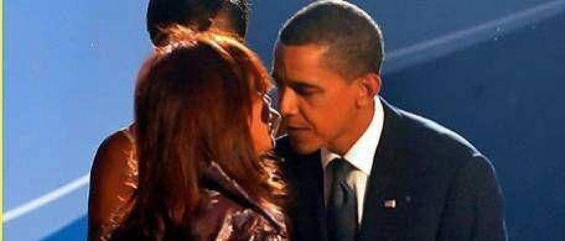 Cristina estuvo con los Obama en Pittsburgh