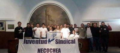 Juventud Sindical Necochea presentada en Capital