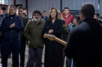 Vidal volvió a pisar un distrito peronista