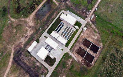 Aseguran que la Estación Depuradora de Aguas Residuales tiene un avance de obra del 90%