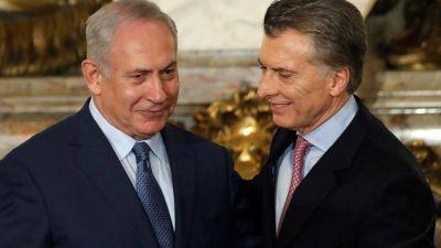 Netanyahu llamó a Macri y le pidió que intercediera para que se reactive el amistoso contra Israel en Jerusalén