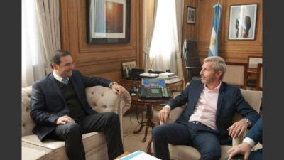 Frigerio trabaja en recomponer vínculos con las provincias con la discusión de la obra pública