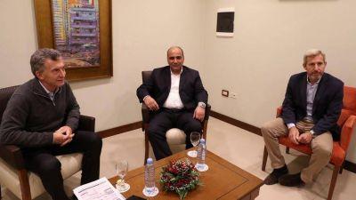 En la previa al acuerdo con el FMI, el Gobierno recibió a cuatro gobernadores