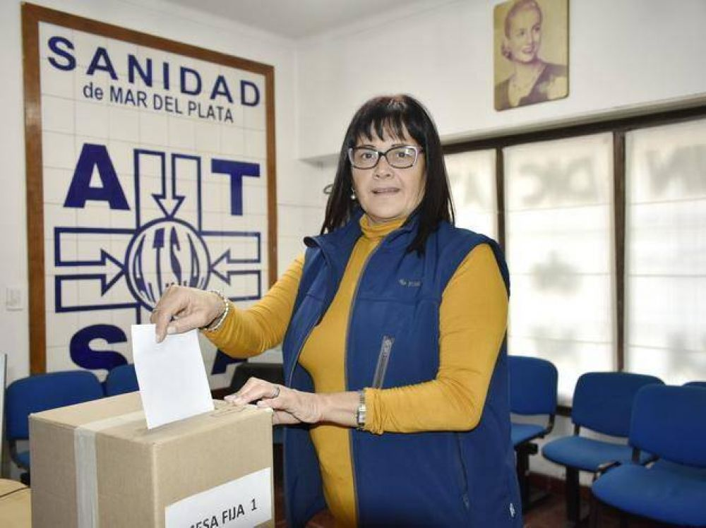 Laura Delpir fue reelecta con el 51,34% de los votos en la Asociación Trabajadores Sanidad