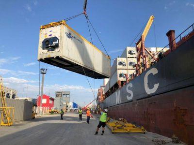 Directivos de terminales de contenedores se reunieron con la autoridad portuaria de Santos