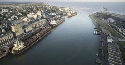 Puerto Quequén: Se exportaron 406.652 toneladas de granos