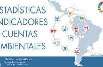 CEPAL lanza plataforma de la Red de Estadísticas Ambientales