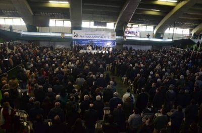 Congreso PJ: concentrados en la unidad, dirigentes