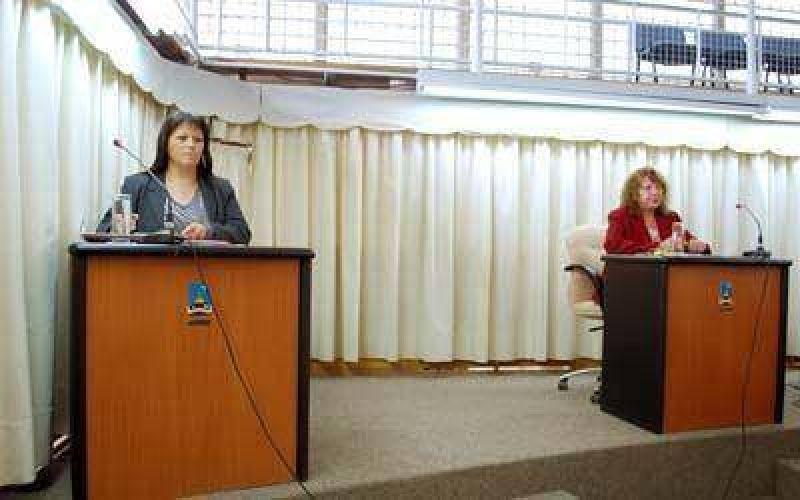 La UCR y Ercira Paredes se aliaron a la hora de las críticas