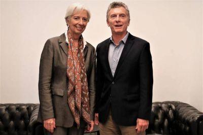 Otra foto con Lagarde: viaja Macri a Canadá para mostrar el aval internacional al acuerdo con el FMI