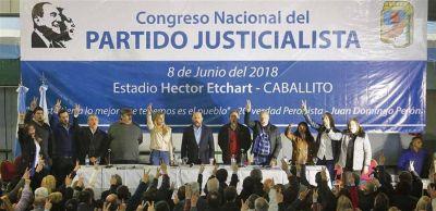 El Congreso del PJ quedó copado por el kirchnerismo y pidió resistir