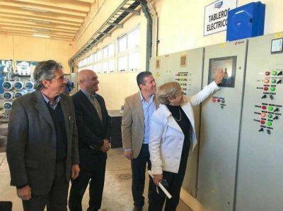 Amplían la planta potabilizadora de Cañada para mejorar el servicio