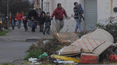 Preocupa la proliferación de basura cerca de jardines de infantes