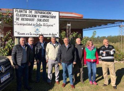 Cassani: Pellegrini tiene una planta modelo de gestión de residuos que puede replicarse en otras comunas