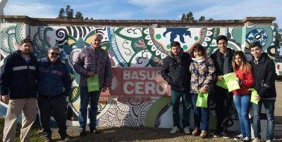 El MSR Necochea visitó la planta de tratamiento de residuos sólidos urbanos de San Cayetano