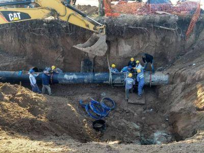 Concluyó la obra del acueducto y el suministro ya se normaliza