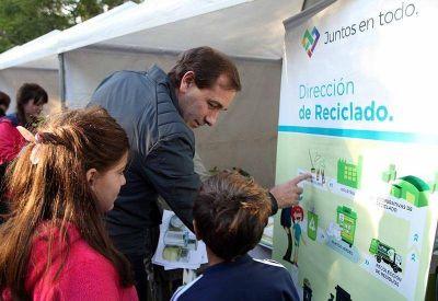 """En una jornada recreativa y educativa, realizaron el """"Ecofestival"""" en el Paseo del Bosque"""