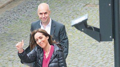 Vidal y Larreta, al frente de la ardua negociación con el PJ