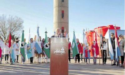 Lifschitz inauguró plantas potabilizadoras en Tortugas y Arteaga