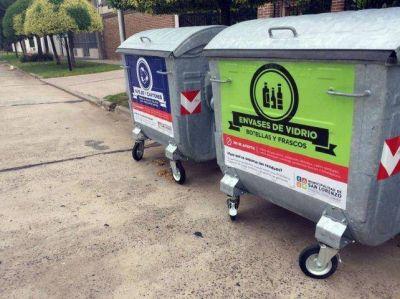 San Lorenzo intensifica sus programas de reciclado de residuos