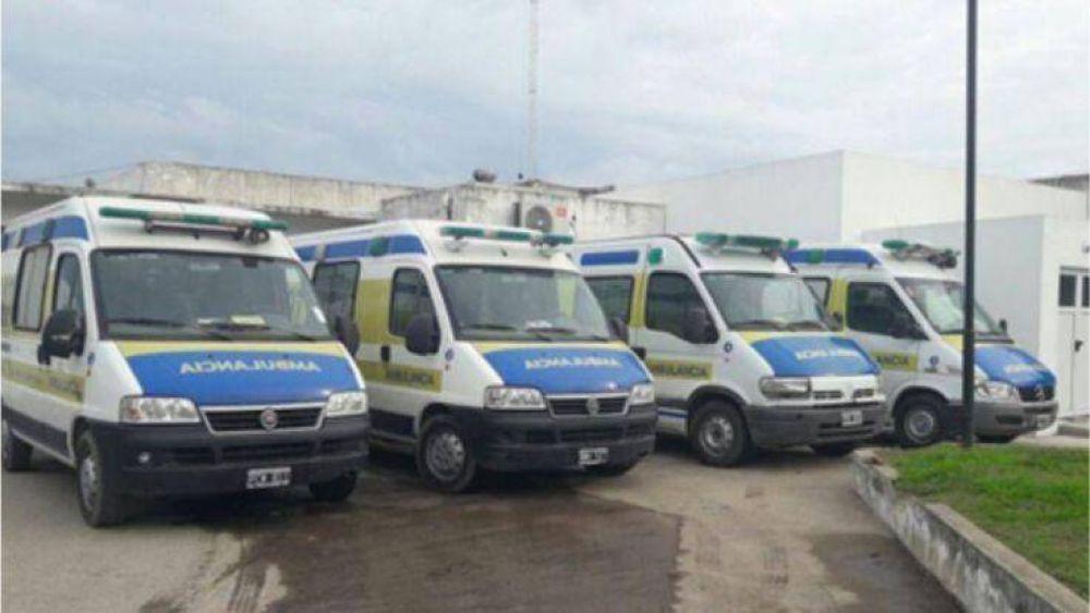 El Municipio incorporó un responsable que buscará fortalecer el servicio de ambulancias