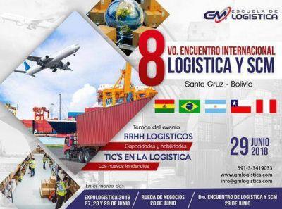 Preparan el 8° Encuentro Internacional Logística y SCM en Bolivia