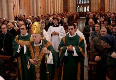 Ante una multitud en la Catedral, Aguer cerró su ciclo en el arzobispado de La Plata