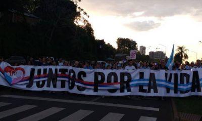 Movilizaciones en todas las provincias para rechazar la legalización del aborto