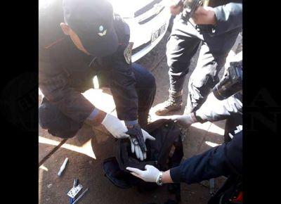 Robo a Ivess: arma utilizada en el asalto fue robada a un policía correntino
