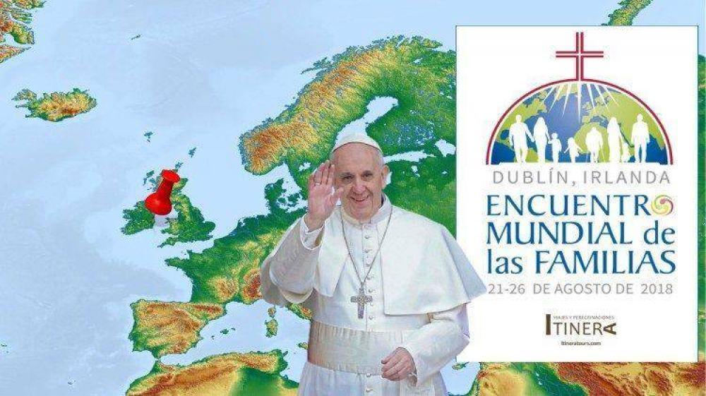 Programa de la visita del Papa al Encuentro Mundial de las Familias en Dublín