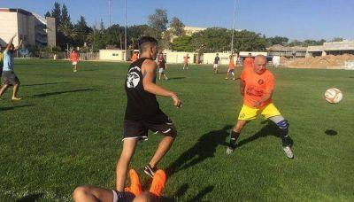 Israelíes y argentinos disputaron un amistoso por la paz