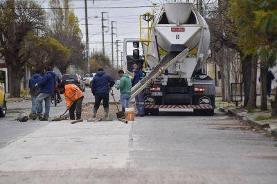 Plan de Bacheo: Continúan mejorándose las calles de la ciudad