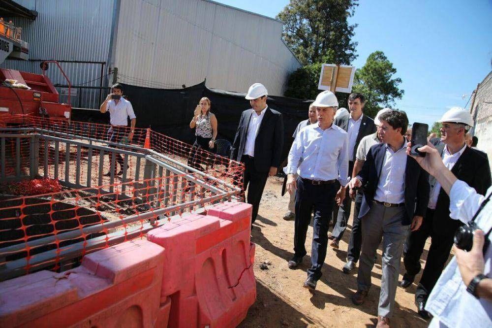La Nación destacó inversiones en Corrientes por $ 500 millones para obras hídricas