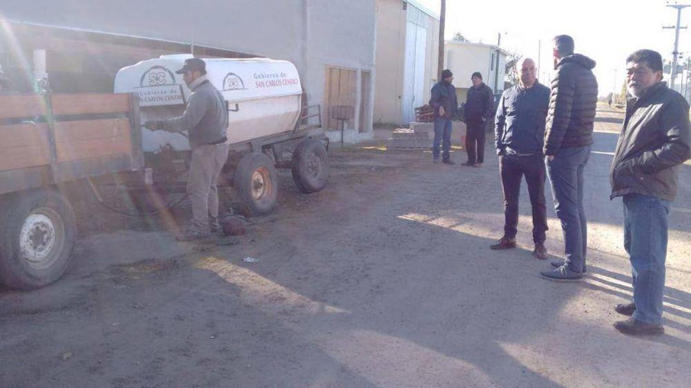 Optimizan la provisión de agua potable en San Carlos Centro
