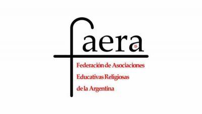 """FAERA reconoce """"el origen sagrado de la vida"""""""