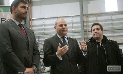 Crece el parque industrial: Fluence Unitek inauguró una nueva planta