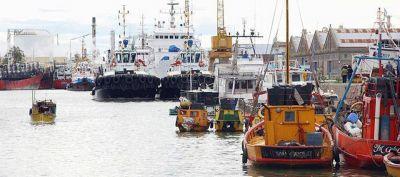 Llegan al Puerto de Bahía Blanca piezas para parque eólico