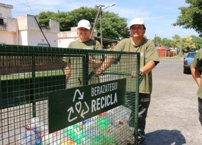 En Berazategui se recolectaron más de 80 mil kilos de plástico y cartón