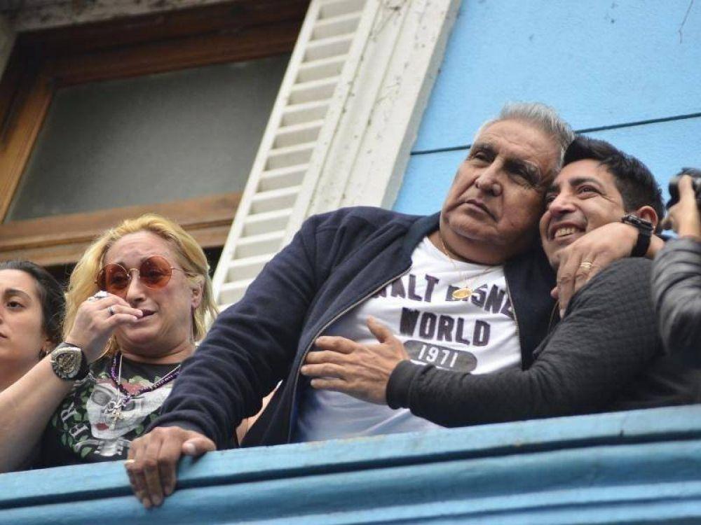 """El """"Pata"""" Medina desde la cárcel: """"Sigo siendo el líder de la UOCRA y voy a echar a los traidores"""""""