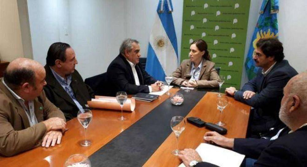 Coninagro le llevó a Vidal su reclamo contra los intendentes