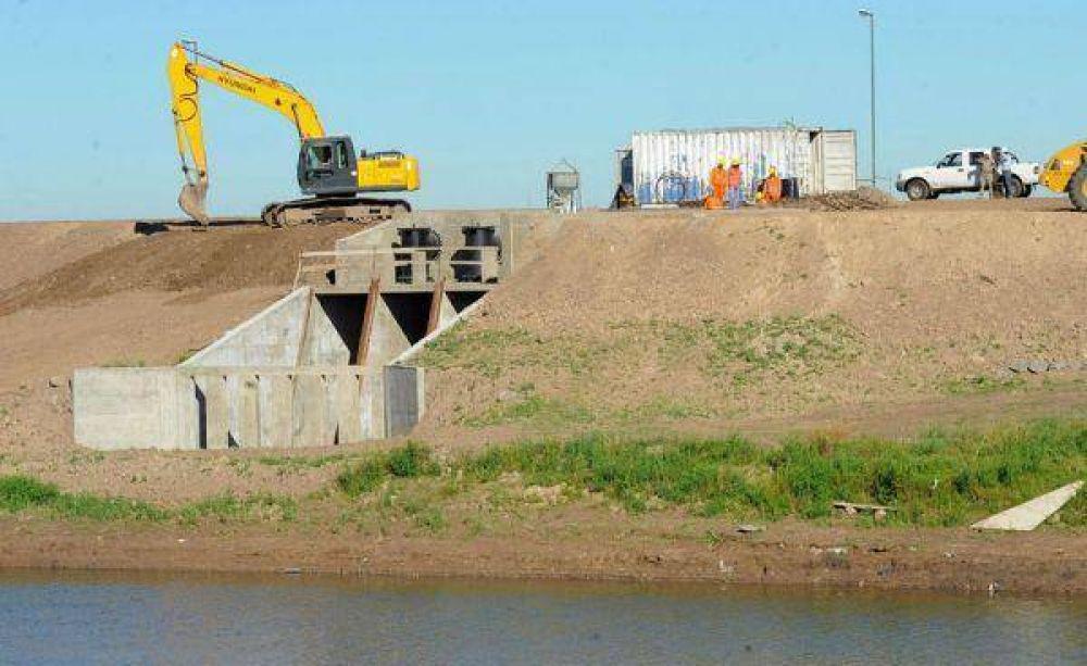 Confirman obras hídricas para ocho distritos del noroeste bonaerense
