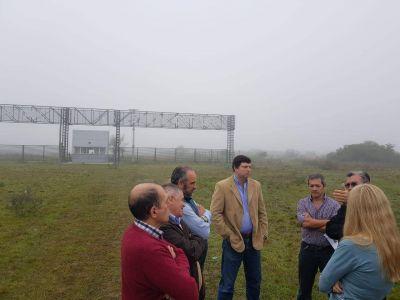 La Provincia y el Municipio coordinan obras para el parque industrial de Santa Catalina