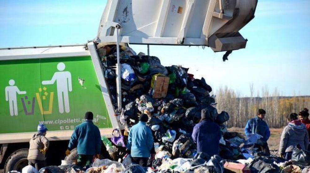 Cipolletti gastará $ 250.000 mensuales para llevar la basura a Neuquén
