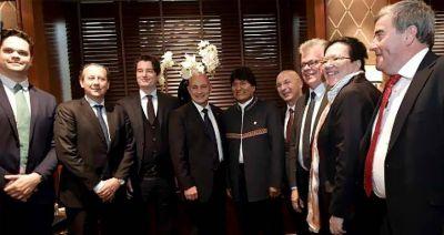 Bolivia quiere que consorcio suizo-alemán financie el Tren Biocéanico