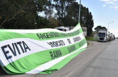 El paro de Camioneros y las CTA tuvo una fuerte adhesión en Mar del Plata